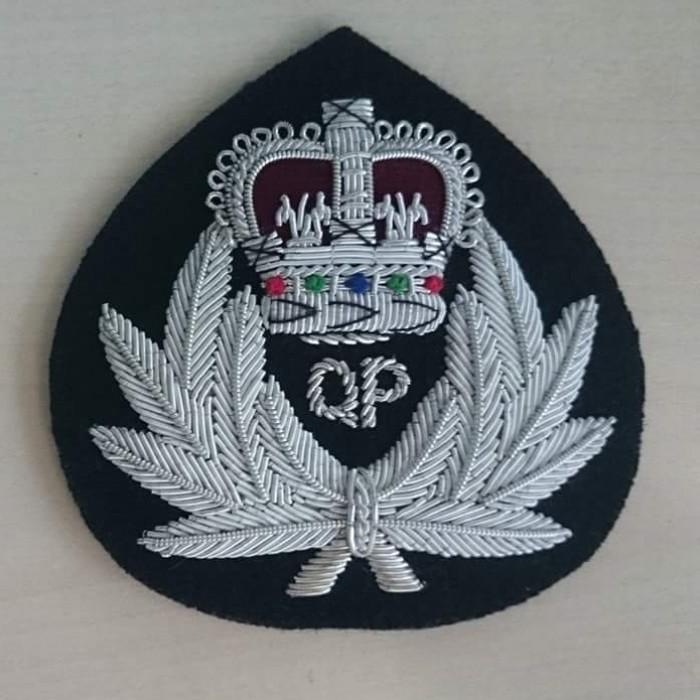 Bullion Wire Handmade Badges